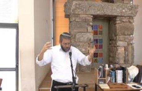 הדלקת נרות חנוכה בבית הכנסת ובבית המדרש- הרב יהושע ון דייק
